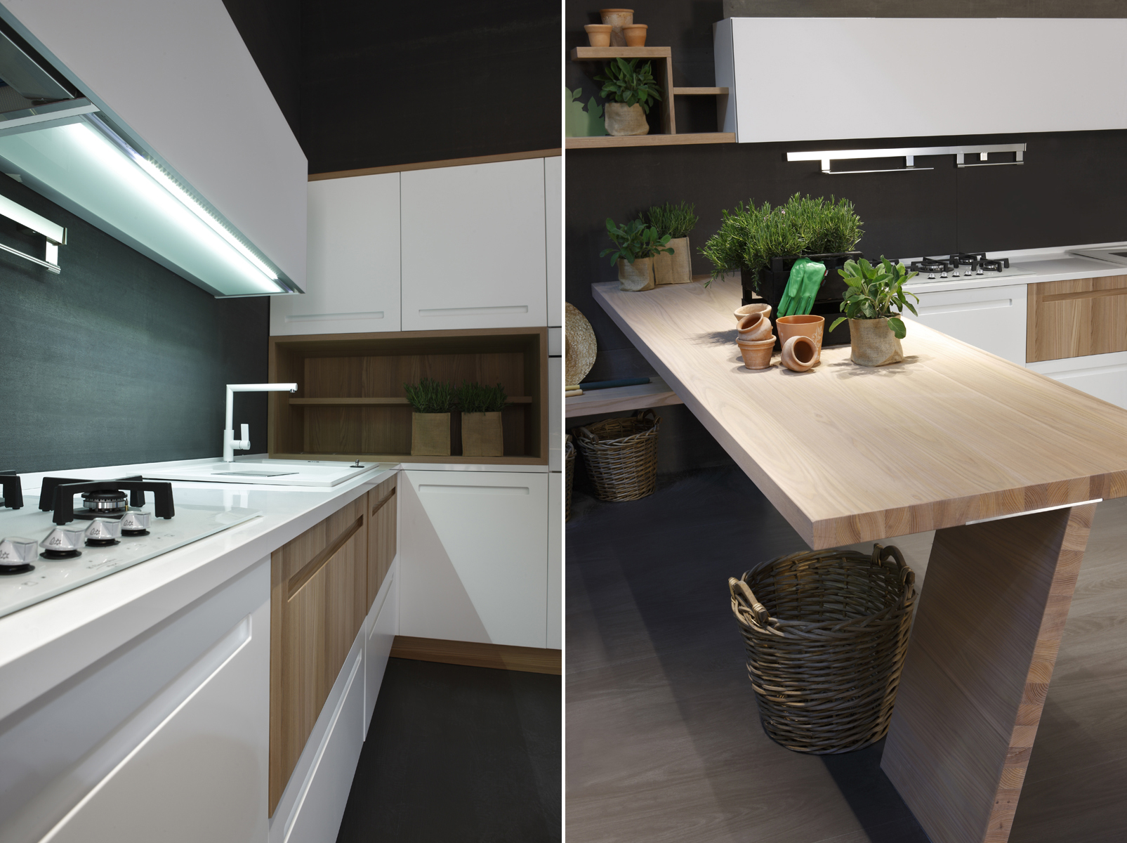 Cucina mood by stosa cucine for Cucine con bancone