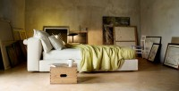 camera da letto con letto mex by Cassina