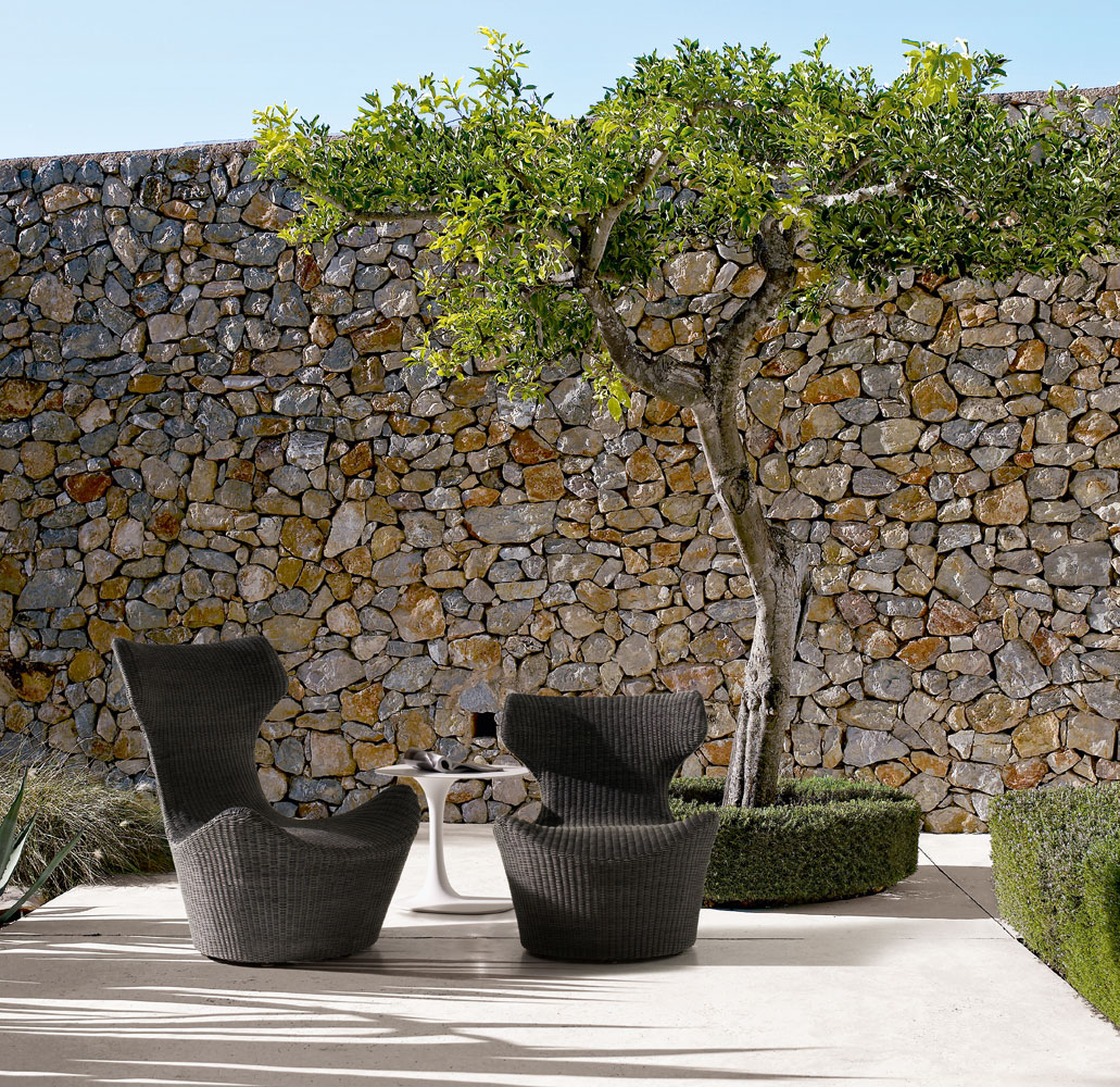 poltrona da esterno papilio collezione b b italia outdoor 2013. Black Bedroom Furniture Sets. Home Design Ideas